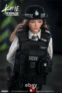 Modeling Toys 1/6 BRITISH METROPOLITAN FEMALE POLICE OFFICER KATIE FIGURE