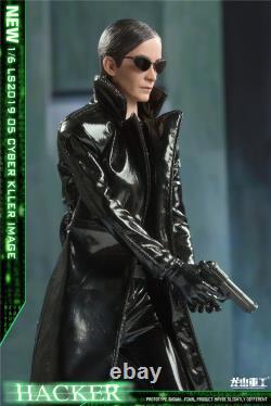New 1/6 LS2019-05 Cyber Killer Black Empire Female Assassin 12 Action Figure