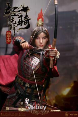 POPTOYS ALS008 1/6 Acient Chinese Female Generals Soldier Figure Model