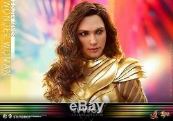 Presale Hot Toys 1/6 MMS577 Golden Armor Wonder Woman Female Figure Collectible