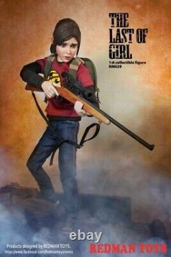 REDMAN TOYS RM029 1/6 Game Figure Ellie The Last of Us Female Doll Model Toys