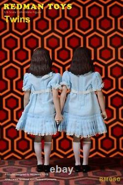 REDMAN TOYS RM050 1/6 Shining Twin Girls 2pc Female Action Figure Set WithCarpet