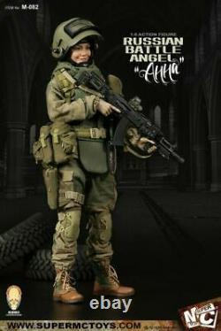 Russian Battle Angel Female Action Figure 1/6 SUPERMCTOYS M-082 Full Set