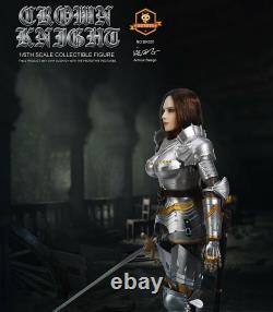 SGTOYS EK001 Female KNIGHT with Metal Armor 1/6 Action Figure