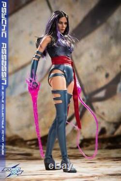 SOOSOOTOYS 1/6 Apocalypse Mutant Psylocke Olivia Munn Female Figure Collectibles