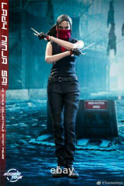 SOOSOOTOYS 1/6th Scale Daredevil Elektra Natchios Female Action Figure SST014