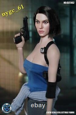SUPER DUCK C026 1/6 Resident Evil Female Policeman Head & Suit fit 12'' Figure