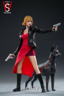 SWTOYS 1/6 FS026 Alice 3.0 Female Action Figure Collectible With Dog Model Dolls
