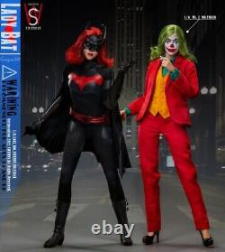 SWTOYS 1/6 FS041 Lady Bat 12'' Female Action Figure Red Hair Head Set Toys Pre