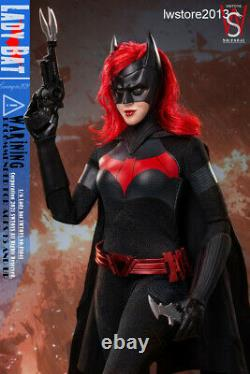 SWTOYS 16 FS041 Lady Bat Double Head Female Action Figure Collectible Presale