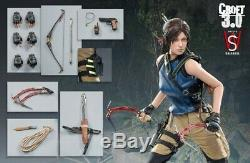 SWTOYS FS031 1/6 Lara Croft 3.0 Action Figure Tomb Raider Game Role Female Set