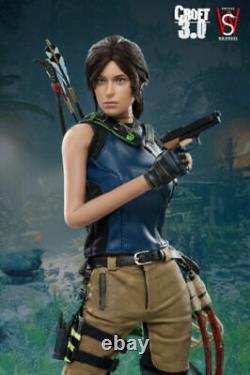 SWTOYS FS031 1/6 Scale Female Lara Croft 3.0 12inch Action Figure Model Toys