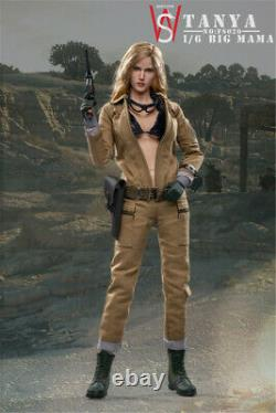 SWtoys 1/6 Scale FS020 EVA Action Figure Toys Female Soldier Model Doll Collecte