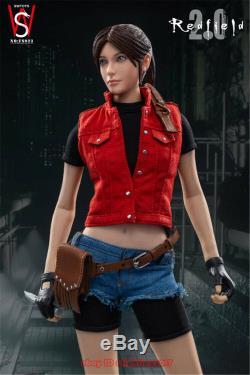 SWtoys FS023 1/6 Resident evil Claire 2.0 Female Action Figure Model INSTOCK