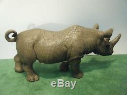 Schleich African Black Rhino Male #14394 Female #14193 Calf #14395 New