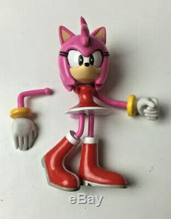 Sega Toy Island 2000 Rouge The Bat & Amy Sonic The Hedgehog 5 Figures