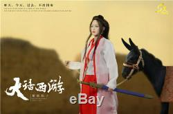 Sxtoys 1/6 Female Figure A Chinese Odyssey Zixia Purple Fairy Model Collection