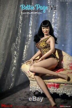 TBLeague 1/6 Bettie Page V2 ERTBLBP005 Queen of Pinups 12 Female Action Figure