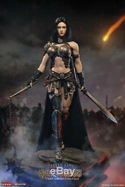TBLeague 1/6 Spartan Army Black Commander 12'' Female Figure Set PL2020-165A