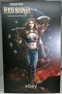 TBLeague 1/6 Steam Punk Red Sonja PL2019-140 Action Figure Female Soldier
