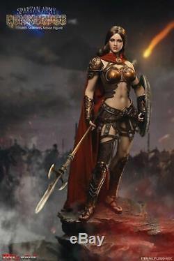 TBLeague 16 PL2020-165C Spartan Army Commander Golden Ver 12 Female Figure Toy
