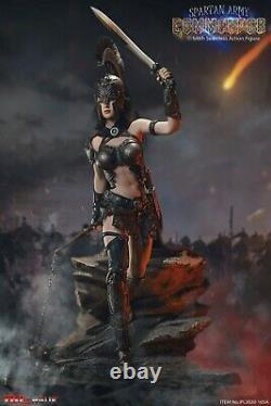 TBLeague 16 Spartan Commander PL2020-165A Black Ver. Female Action Figure Doll