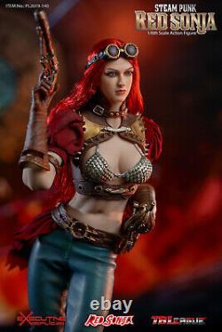 TBLeague PL2019-140A 1/6 Steam Punk Red Sonja Figure Model No Base Seamless Body