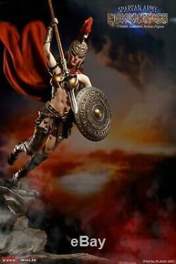 TBLeague PL2020-165 1/6 Female Spartan Warrior Army Golden Armor Solider Figure