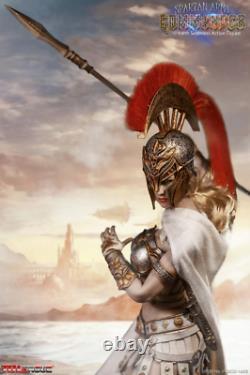 TBLeague Phicen 1/6 Scale 12 Silver Spartan Army Commander Action Figure New