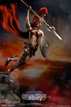 TBLeague Phicen Seamless Body Spartan Army Commander Golden Armour 1/6 FIGURE