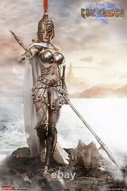 TBLeague Phicen Seamless Body Spartan Army Commander Silver Armour 1/6 FIGURE