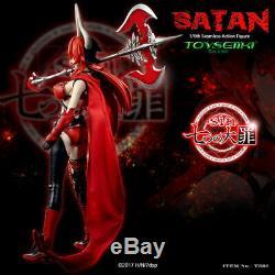 TOYSEIIKI 1/6 TS01 Seven Mortal Sins Satan Demon Lord 12 Female Action Figure