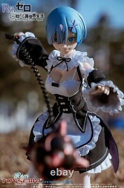 TOYSEIIKI 1/6 TS09 ReZERO Starting Life in Another World Rem Female Figure Toys