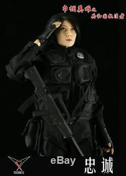 Technic Toys HEROINE Law Enforcer PRC Female Police S. W. A. T Officer 1/6 Figure