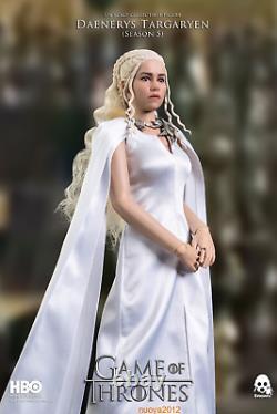 Threezero 16 3Z0146-EX Game of Thrones Daenerys Targaryen Female Action Figure