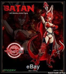 Toysiiki TBLeague Phicen 1/6 Female Action Figure Seven Mortal Sins Satan TS01