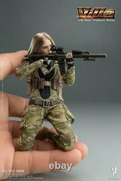 VERYCOOL 1/12 Palm Treasure Villa MC Camo. VCF-3004 6'' Female Soldier Figure