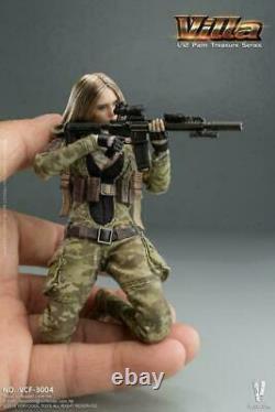 VERYCOOL 1/12 Villa VCF-3004 6'' Female Soldier Figure Palm Treasure US STOCK