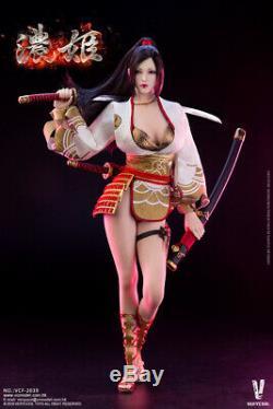 VERYCOOL 1/6 Nhime Female Japanese Ancient Hero VCF-2039 12'' Figure Model Set