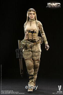 VERYCOOL 1/6 VCF-2037B A-TACS FG Female Combat Soldier Figure Model