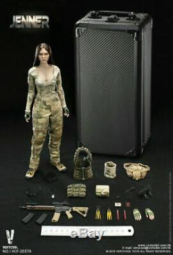 VERYCOOL VCF-2037A 1/6 Ruins Camouflage Female Soldier JENNER Set Action Figure