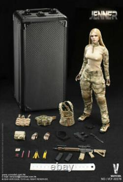 VERYCOOL VCF-2037B 1/6 Combat Soldier A-TACS FG Female Figure Model Toys
