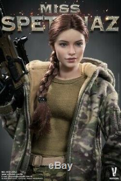 VERYCOOL VCF-2052 1/6th Russia Special Warfare Female Soldier Action Figure Toys