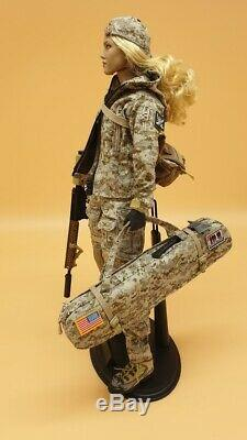 VeryCool 1/6 Scale Digital Camouflage Female Soldier Actionfigure