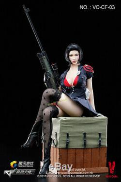 Verycool 1/6 Cross Fire Defender of Fox Legend Sexy Female Sniper Figure Model