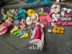 Vintage 1985 My Little Pony Collectors Carrying Case & Lot Of 13 G1 Ponies +