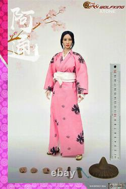 WOLFKING 1/6 Atung Female Head Body Clothes Model 12 Action Figure Collectible