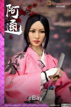 WOLFKING WK89018A 1/6 ATONE Japanese Female Action Figure Collectible Toys Model