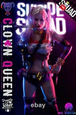 War Story 1/6 WS010-A Clown Queen 12'' Action Figure Female Joker Body Clothes