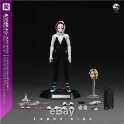 YR TOYS YR009 1/6 Female Spider Battle Clothes Ver. Gwen Stacy Action Figure